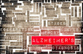 Alzheimer's or Dementia as a Medical Condition — Stock Photo