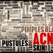 Stock Photo: Acne