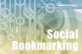 Social Bookmarking Abstract — Stock Photo