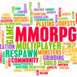 MMORPG — Stock Photo