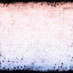音楽テーマにした抽象的なグランジ背景 — ストック写真