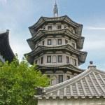 Serene Chinese Japanese Gardens — Stock Photo