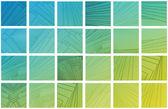 カラフルな正方形の背景 — ストック写真