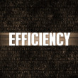 Stock Photo: Efficiency
