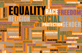 Social Equality — Stock Photo