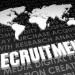 Recruitment — Foto Stock