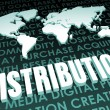 Distribution — Stock Photo