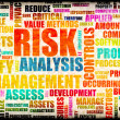 Stockfoto: Risk Analysis