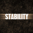 Stability — Stock Photo