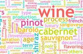 Wine Menu — Stock Photo