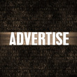 Advertise — Stock Photo #30067055