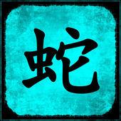 Snake - Chinese Astrology — Stock Photo
