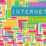 Internet Word Cloud — Stock Photo #31035283