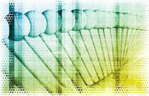 Abstrakt vetenskap begrepp — Stockfoto