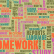 homework — Stock Photo