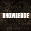 Stock Photo: Knowledge