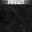 Privacy — Stock Photo