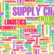 Supply Chain — Stockfoto
