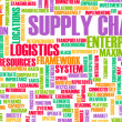 Supply Chain — Stock Photo