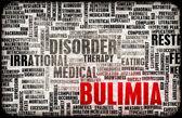 Bulimia Concept — Stock Photo