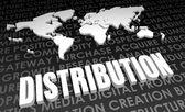 Distribution — Stock Photo