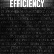 Efficiency — Stockfoto #32000377