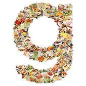Potraviny umění g — Stock fotografie
