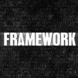 Framework — Stock Photo