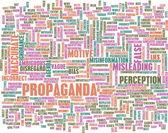 Propaganda — Stock Photo
