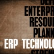 Stock Photo: ERP Technology