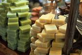 Olive Oil Soap Bars — Stock Photo