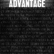 Stock Photo: Advantage