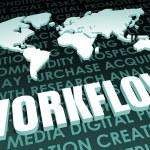 Workflow — Stock Photo #35271043