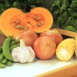 Stock Photo: Common Vegetables