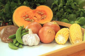 Common Vegetables — Stock Photo