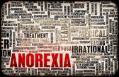 Anorexia Concept — Stock Photo