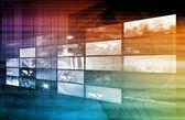 Internet Multimedia — Stock Photo
