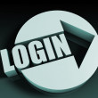 Login — Stock Photo