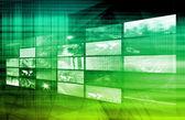 Internet multimedia — Stockfoto