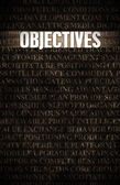 Objectives — Foto de Stock