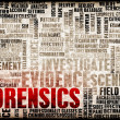 Forensics — Stock Photo