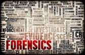 Forensics or Forensic Science as a Concept — Stock Photo