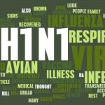 H1N1 — Stock Photo #38140911