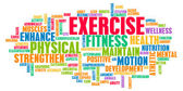 Exercise Concept — Stock Photo