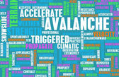 Avalanche — Stock Photo
