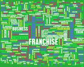 Franchise Concept — Stock Photo