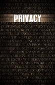 Privacy — Stock Photo