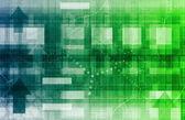 сети передачи данных — Стоковое фото