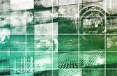 Virtual Technology — Stock Photo