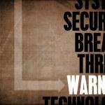 Warning — Stock Photo #39055875